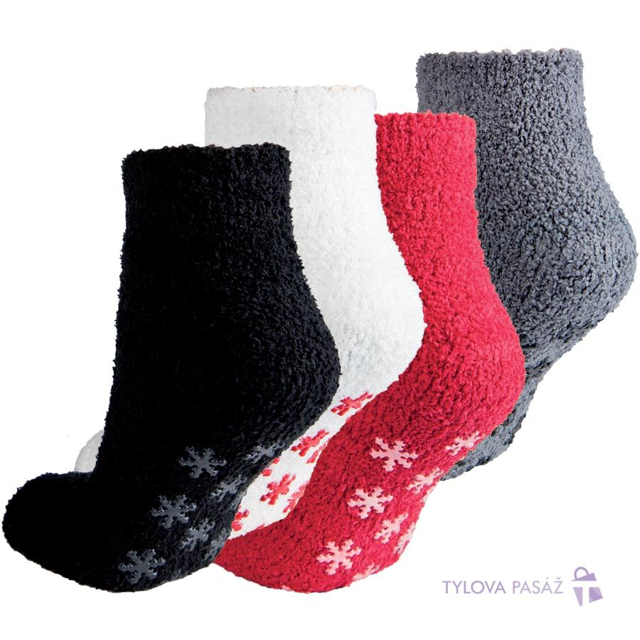 8d729e3daca 14471 REMORA ŽINILKOVÉ ABS - Dámské - Ponožky - Spací ponožky