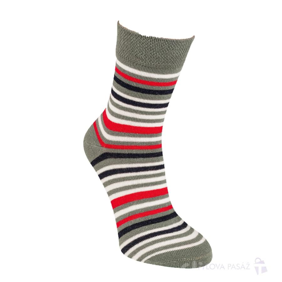 2085417 FURIO BAVLNĚNÉ DĚTSKÉ PONOŽKY RS ŠEDÁ - Dětské - Ponožky - Dívčí 9b1c2faa9b