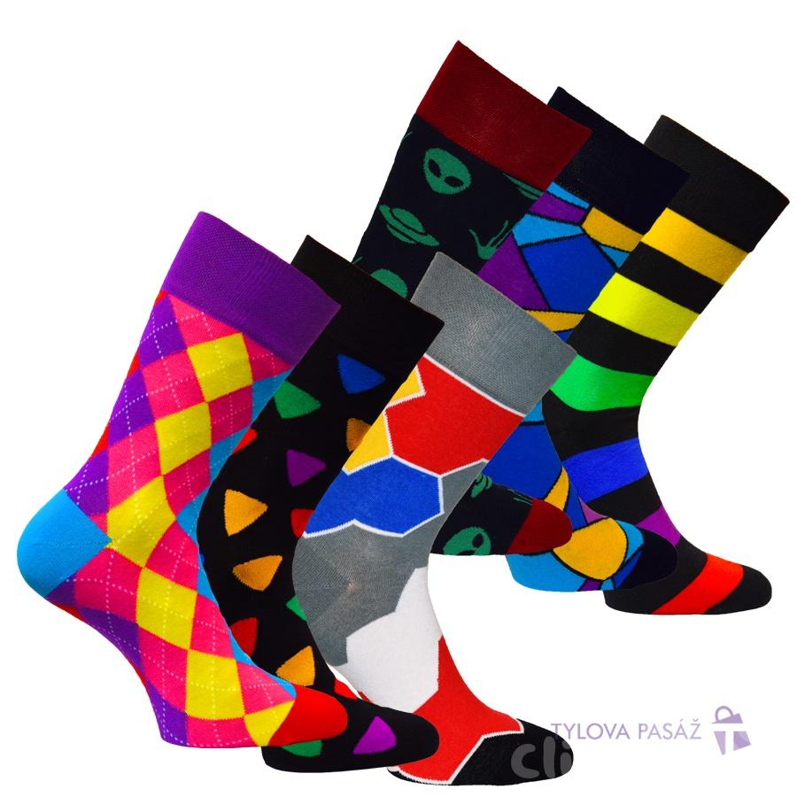 29452984914 34083 WOW PÁNSKÉ MÓDNÍ BAREVNÉ PONOŽKY RS - Pánské - Ponožky - Barevné    MÓDNÍ