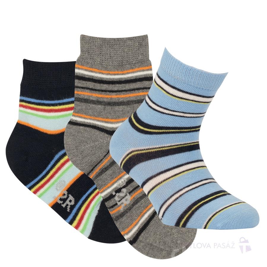 faa97ef9ec4 2081718 FURIO EA DĚTSKÉ PRUHOVANÉ RS - Dětské - Ponožky - Chlapecké