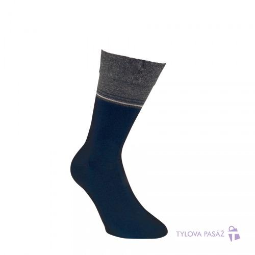 3216017 HIRAN ZDRAVOTNÍ VZOROVANÉ RS MODRÁ - Pánské - Ponožky - Oblekové b4a7ea9b8e