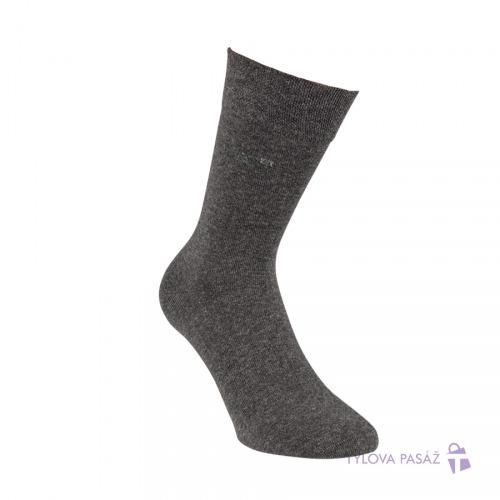 82590074080 3215917 RACHIT ZDRAVOTNÍ VZOROVANÉ RS ANTRACIT - Pánské - Ponožky - Oblekové