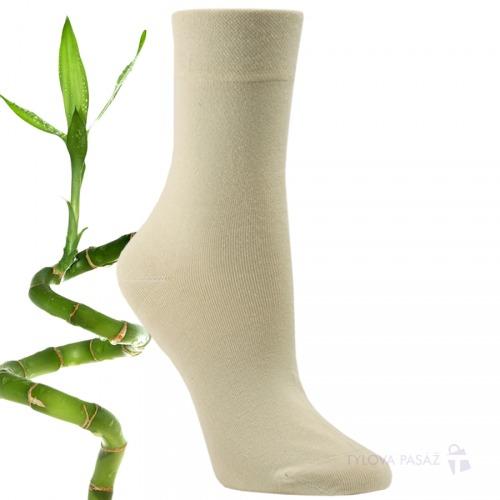 43042 BAMBOOUNISEX ZDRAVOTNÍ RS CREAM - Dámské - Ponožky - Bambusové 3e309f5d03