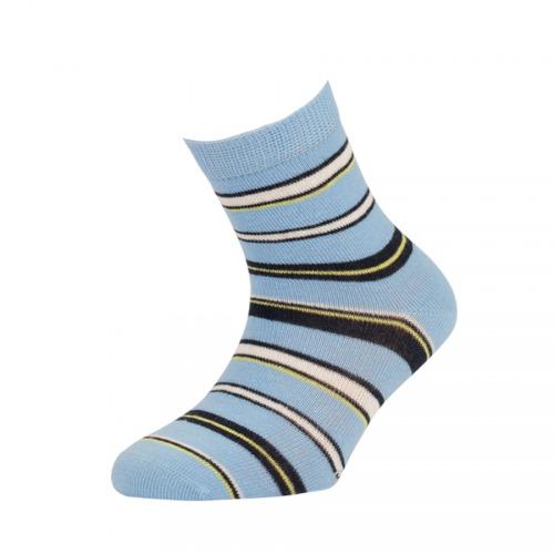 c362174370e 2081618 FANDO EA DĚTSKÉ PRUHOVANÉ RS BLUE - Dětské - Ponožky - Dívčí