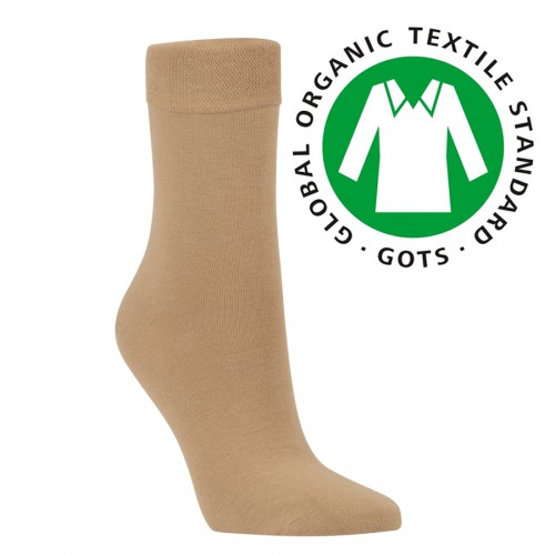 41010 BIO BAVLNA UNISEX ZDRAVOTNÍ PONOŽKY RS BEIGE - Pánské - Ponožky - Bez  gumiček bce2554132