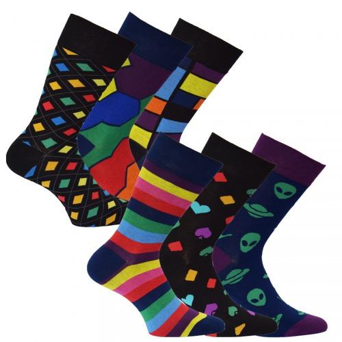 34104 PÁNSKÉ BAREVNÉ PONOŽKY OXSOX - Pánské - Ponožky - Barevné   MÓDNÍ ba8f3070a5
