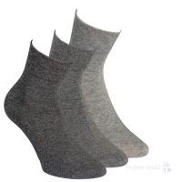 63e37681b4c 32028 SILVER PÁNSKÉ ZKRÁCENÉ ZDRAVOTNÍ Pánské ponožky