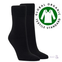584544ee89d 41012 PÁNSKÉ DÁMSKÉ PONOŽKY VYŠŠÍ BIO BAVLNA Ponožky bez gumiček