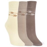 d230b1e9637 1194418 DÁMSKÉ PONOŽKY VYŠŠÍ VZOROVANÉ RS Dámské ponožky