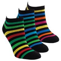 ad61c64f434 1532319 DÁMSKÉ NÍZKÉ PRUHOVANÉ PONOŽKY RS Dámské ponožky